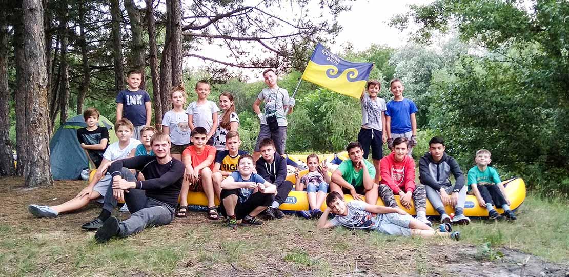 Детский лагерь на реке Орель фото